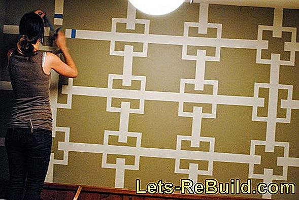 Paint Wall With White Border Around It » How It Works!