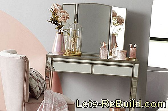 Make A Dressing Table Yourself » Helpful Tips And Tricks