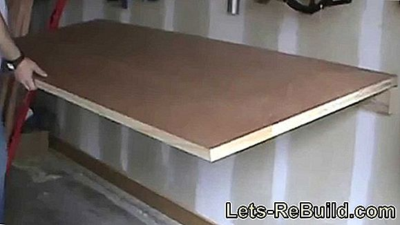 Build A Bar Table Yourself » Instructions In 8 Steps