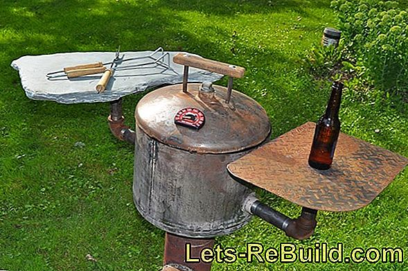 Oil Drum As A Bar Table » Building Instructions