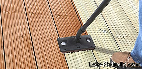 Cleaning The Wooden Terrace » Instructions, Tips & Tricks