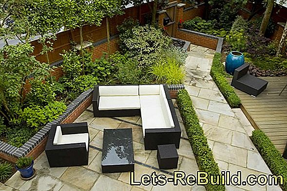 Pave The Terrace Yourself - Instructions In 4 Steps