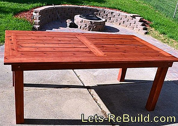 Build a wooden terrace yourself