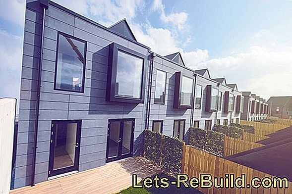 Terraced House As Prefabricated House » Does That Make Sense?