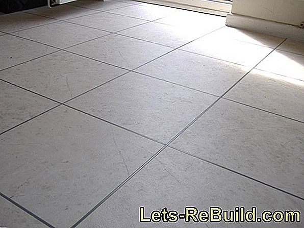 Perfect for underfloor heating: tiles in plank look