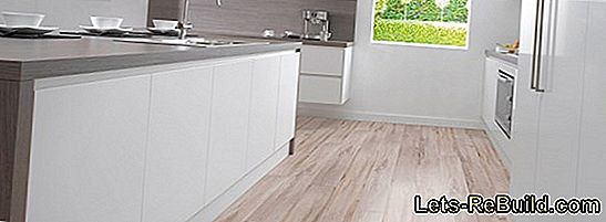 Lay laminate professionally on tiles