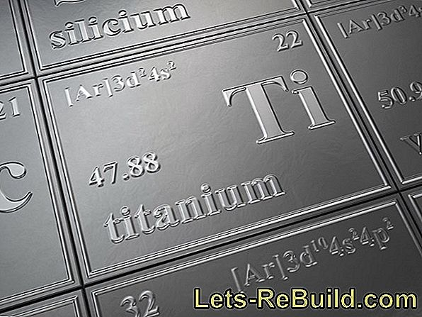 Titanium as a light metal - facts and applications