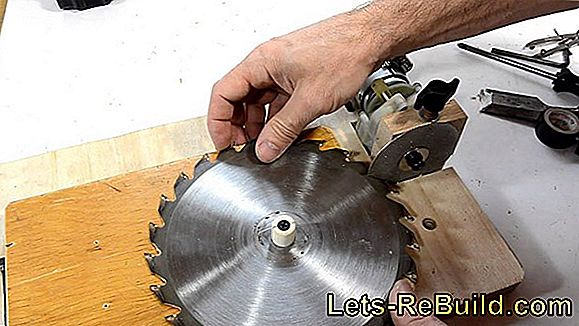 Sharpen saw blade
