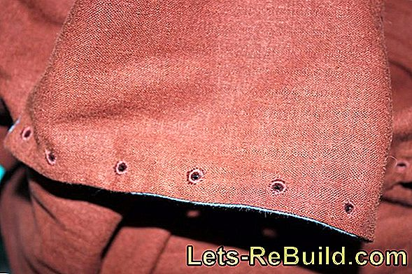 Turn eyelets - done professionally
