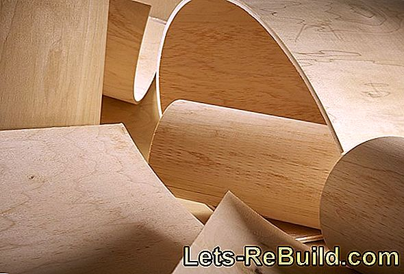 Bend plywood
