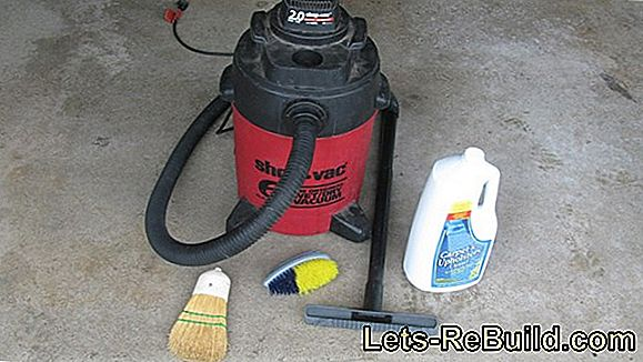Clean the vacuum cleaner - this is the best way to do it
