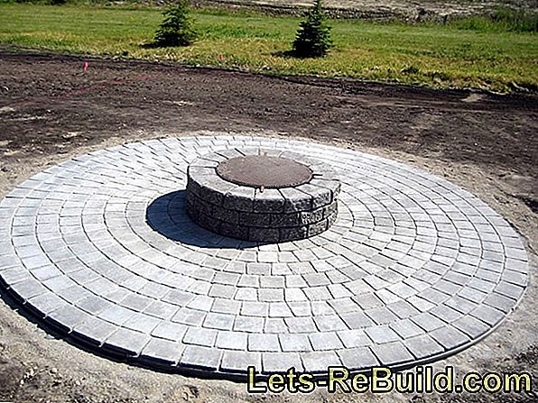 Paving Stones Circle - Ways, Patterns And Prices