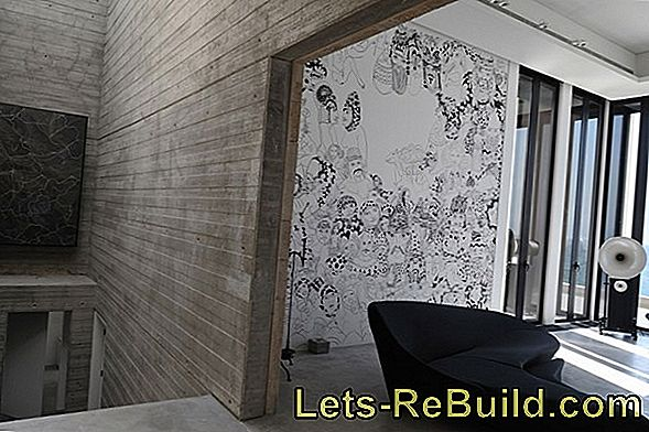 Wall Paint With Structure » Worth Knowing About Application