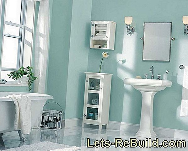 Wall Paint For The Bathroom » Which Is Suitable?