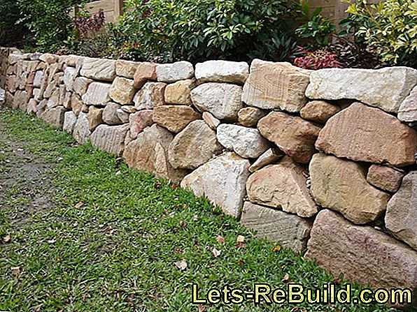 Wall Cover Made Of Natural Stone » Which Slope Must Be Observed?