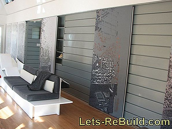 Zinc wall covering - which mounting do you need?