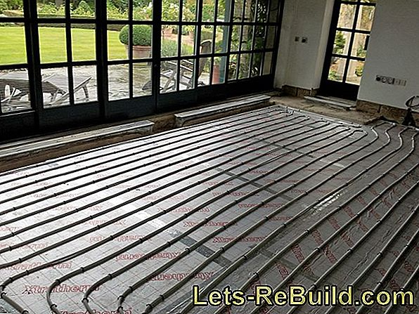 Lay Floor Heating - How It'S Done!