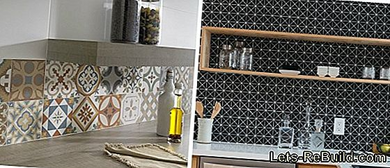 Wall tiles for the kitchen should be practical
