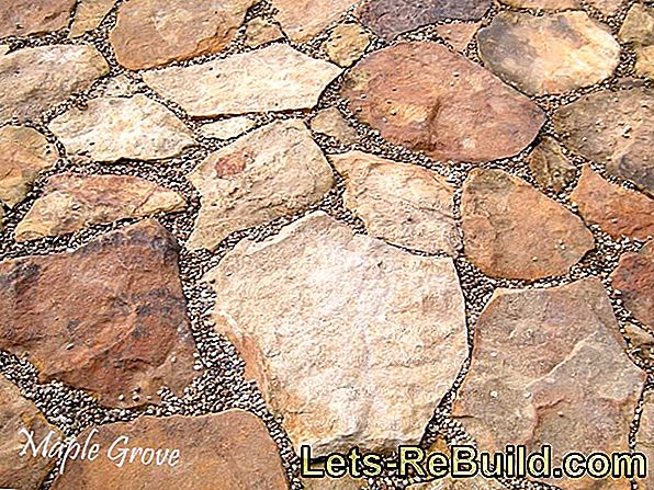 Field stones resemble puzzle pieces in the walls