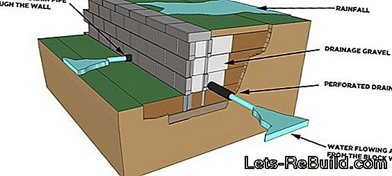 Building A Wall On A Slope » These Special Features Must Be Observed