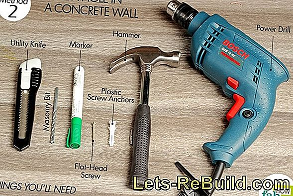 Drilling Into A Wall » This Is How You Proceed
