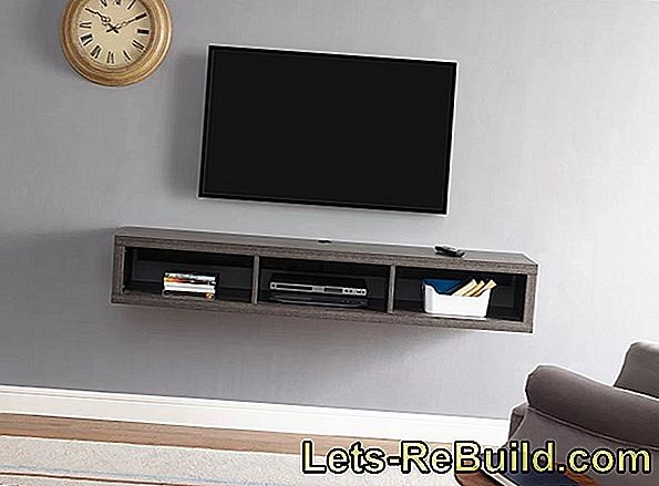 Build TV wall mount yourself