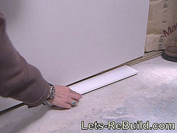 Fill Gypsum Plasterboard - To Fill Plasterboard