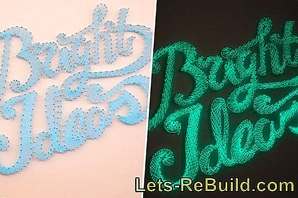 Make Wall Writing Yourself » The Best Ideas
