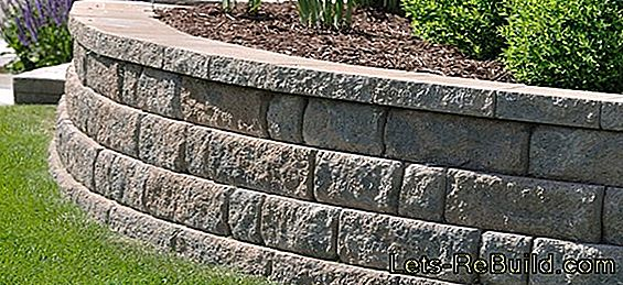 Dry masonry - you have these options