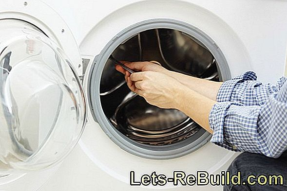 Washing machine change gasket - how do you do that?