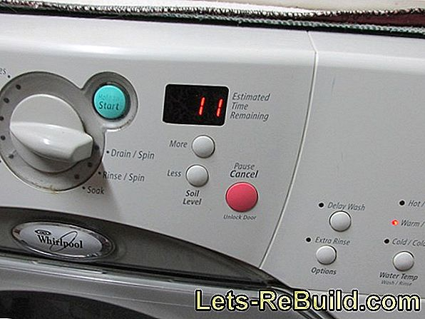 Washing Machine Wanders » Causes & Countermeasures