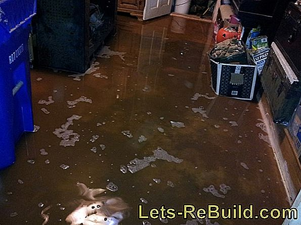 Water damage: Proper documentation of the damage
