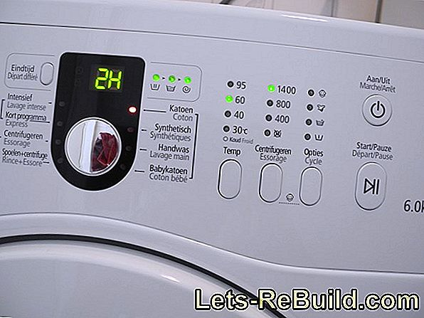 Water softener for the washing machine - what you have to consider
