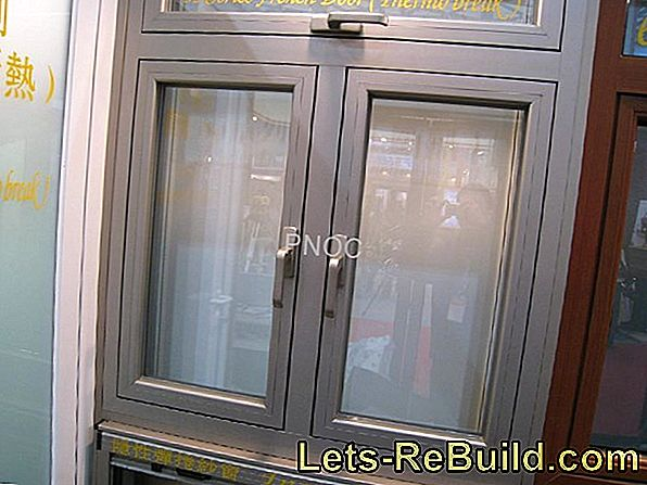 Window glass: the thermal insulation values