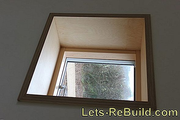 Plastering window reveal: this is how it is done correctly