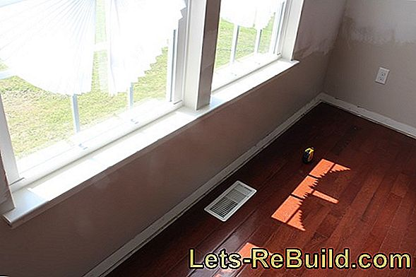 Building Windowsill » Instructions In 4 Steps