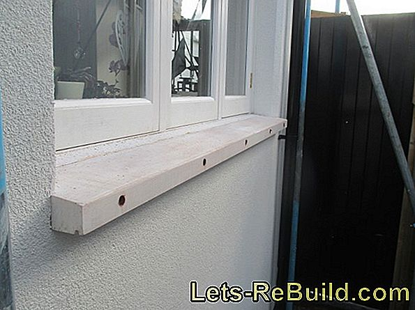 Insulation Of A Windowsill » Instructions In 3 Steps