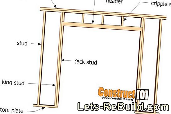 Install the gable window - step by step