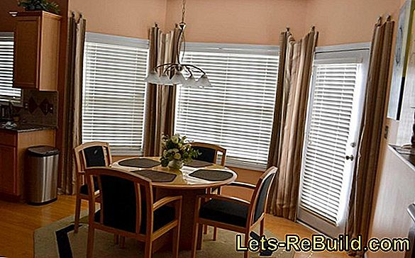 Kitchen window curtains - ideas and solutions