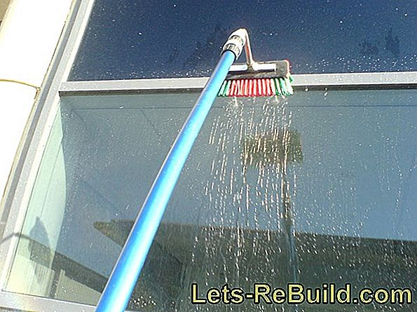 The window cleaning by the professional: Which prices are usual?
