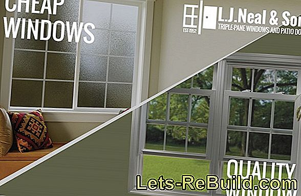 Quality windows versus cheap windows - the disadvantages of cheap windows