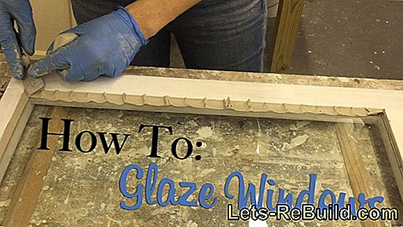 Glaze a window