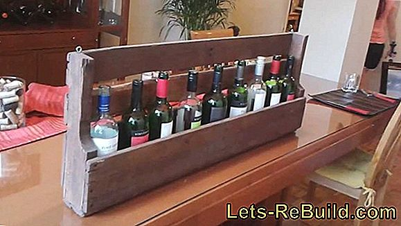 Fantastic! 9 simple ways to build a wine rack yourself