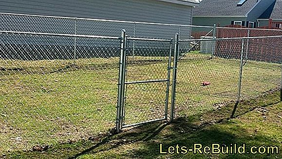 Wire Chain Link Fence » How To Do It Right