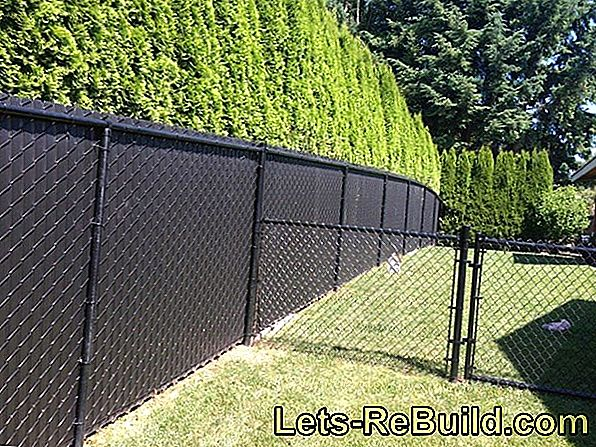 Screen Protection For Chain Link Fence » The Options