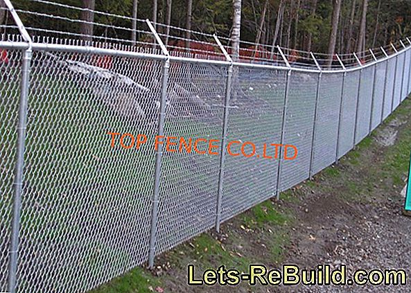 Chain link fence - the manufacture