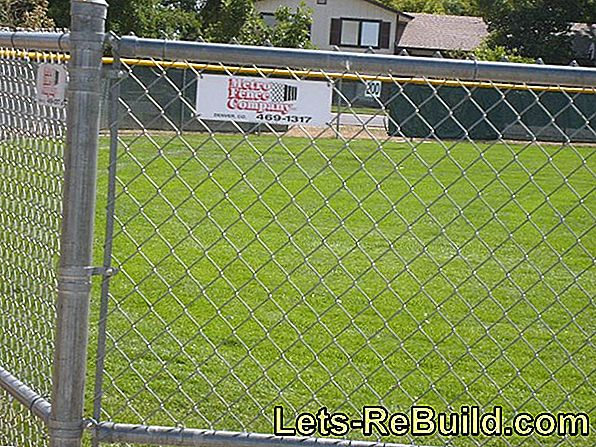 Make a chain link fence opaque