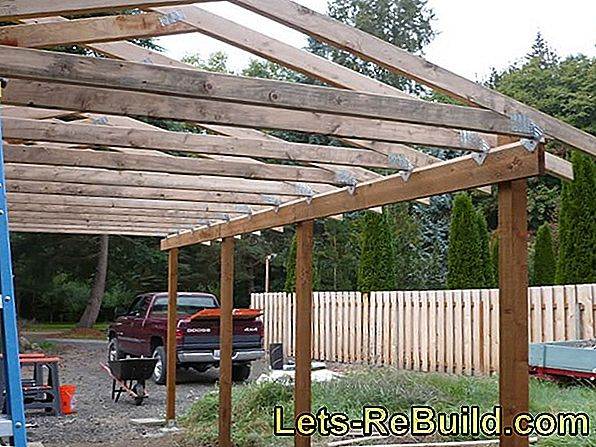 Wooden Stand Construction For The Garage » Advantages, Prices & More