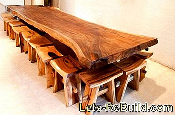 Wooden table weatherproof - important tricks
