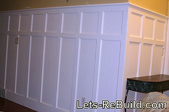 Paint Wood Panels On The Ceiling » Instructions In 3 Steps